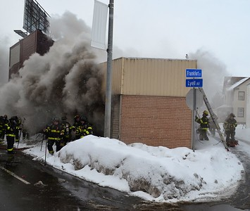 Commercial Building Fire - Lyell Avenue Rochester, NY - 2/20/21