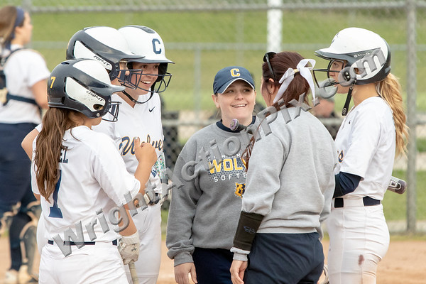 2019 05 21 Clarkston Varsity Softball vs Stoney Creek
