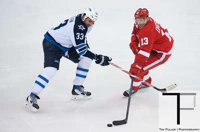 NHL: Winnipeg Jets at Detroit Red Wings 11/12/13