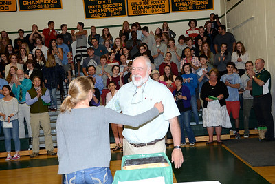 2014 Yearbook Dedication To Mr D photos by Gary Baker