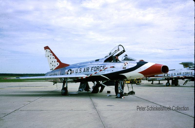 Thunderbird F-100D Seven 1965