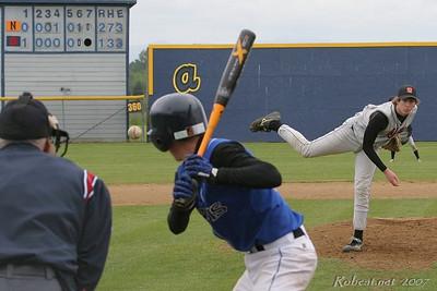 2007/05/19 Baseball (Regionals) - Napavine (Seattle Lutheran, Adna)