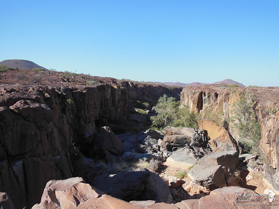 Canyon in Damaraland