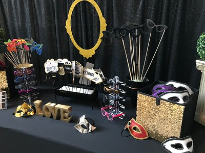 THE BOOTH AND PROP DISPLAY