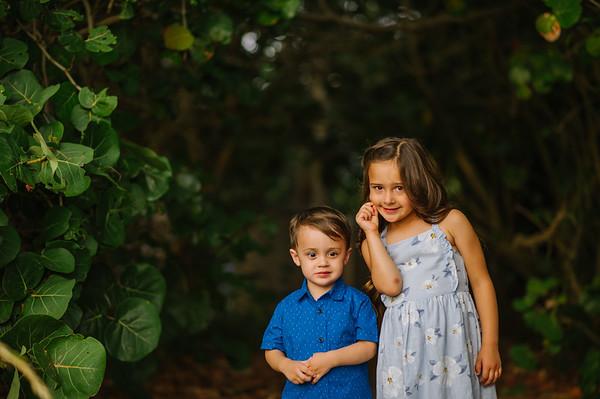 Sunset Beach Treasure Island Family Photos