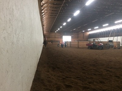 Completing the circle, Bob Jensen horsy stables..