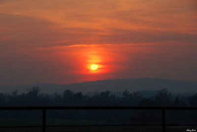 Sunset Rt. 32 Missouri