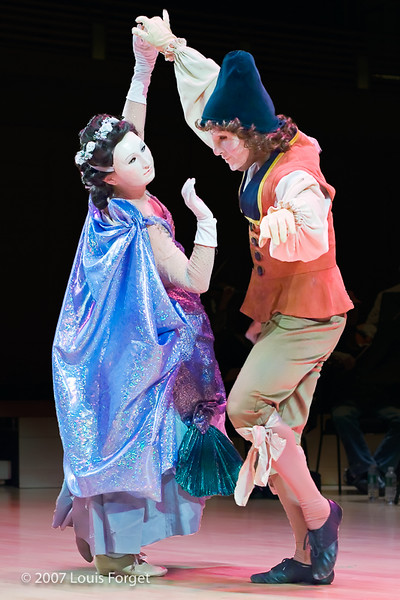 Members of the New York Baroque Dance Company in Opera Lafayette's production of Rebel and Francoeur's Zélindor, roi des Sylphes