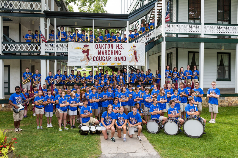 OHS Marching Band 2013