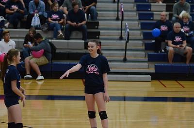 OE Soph. girls Volleyball Vs Oswego 2016