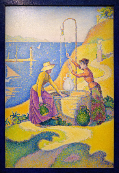 Paul Signac, Women at the Well, 1892