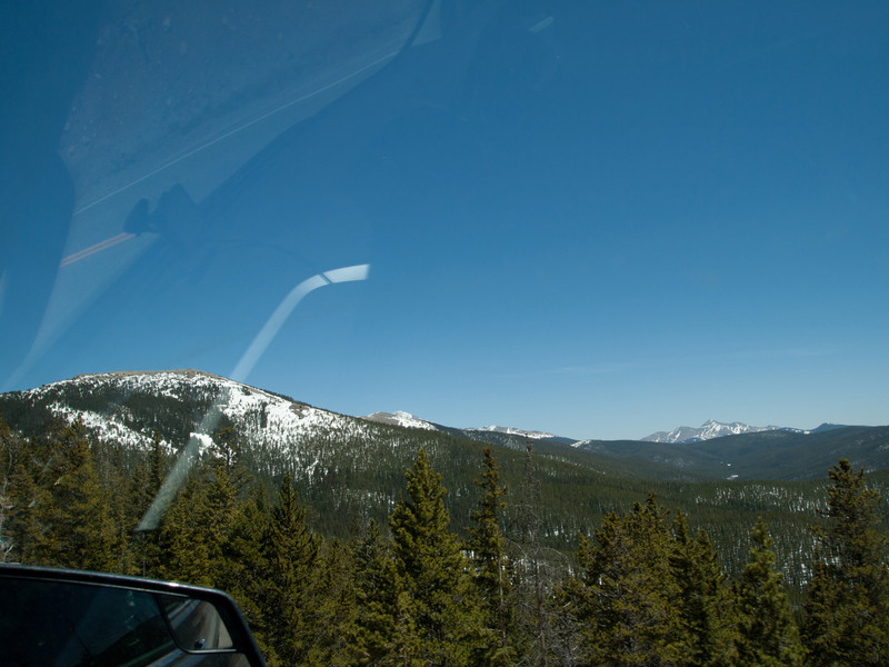 Here we are heading up towards Monarch's pass.