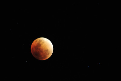 Moon Eclipse in 2018