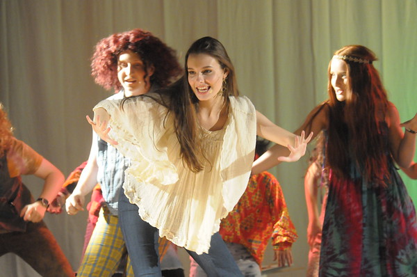 "Young Starrs Theater Co. dress rehearsal for ""Hair."""