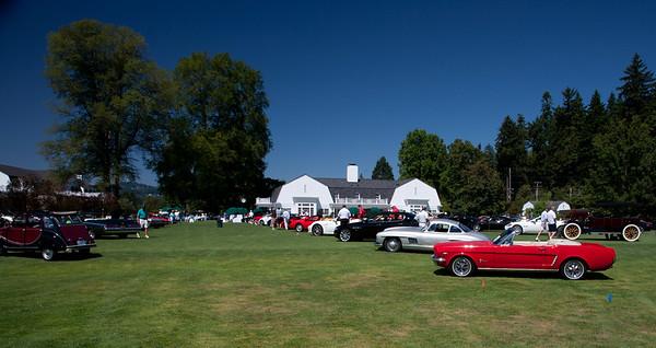 Waverley Country Club Car Show