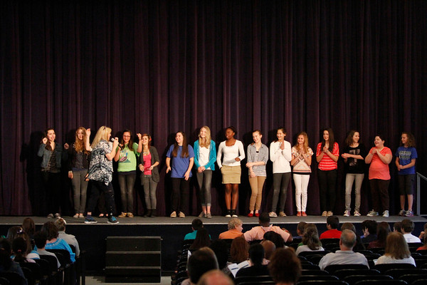 MS Athletic Ceremony 2012