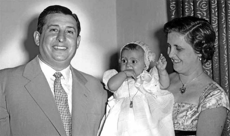 1958 Andrada,  Baptizado Guida Tavares  Manuel Tavares, Guida e Maria Aurora Tavares