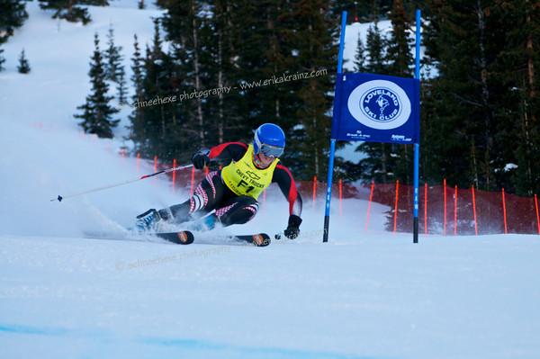 3-14-14 FIS Jr. Championships GS at Loveland - Run #1