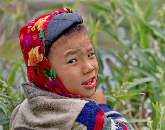 II - Portraits d'enfants à Mai Chau