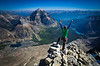 Summit Time, Deltaform Mountain, Banff/Kootenay National Parks, AB/Bc, Canada.