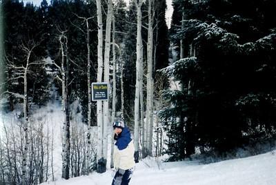 Paige - Snowboarding In Aspen