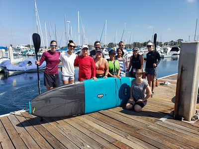 FY21 Paddle Boarding