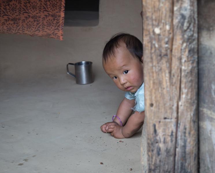 Child in the Doorway