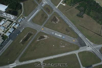 Aerial Photos - Skydive Deland