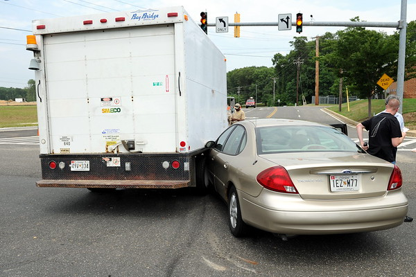7/20/2010 SMECO Truck Accident on 235