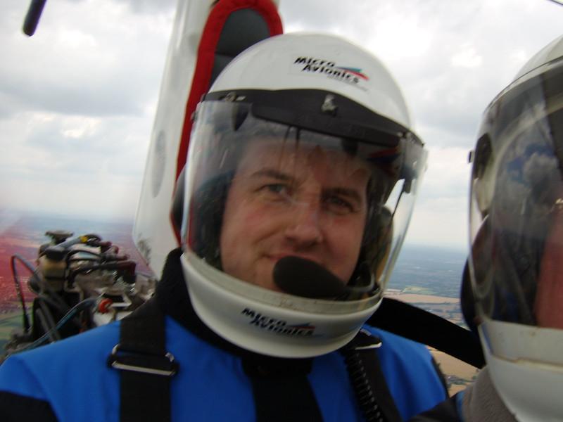 Neil's flight with Steve 26/07/2008