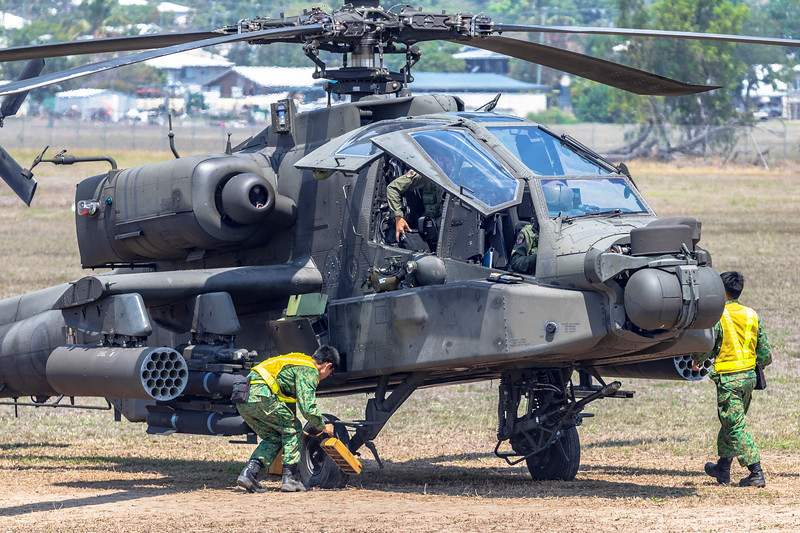Exercise Wallaby 2018 - AH64D Apache