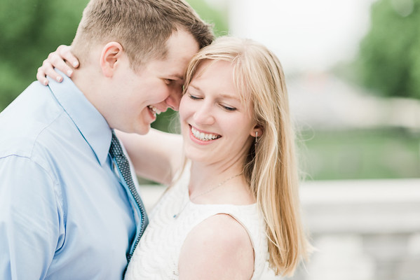 Mairead and Brennan's Engagement in Downtown Harrisburg