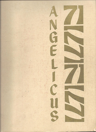 DCHS Angelicus 1971 Yearbook