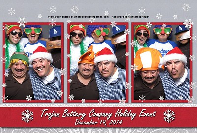Trojan Battery Holiday Event