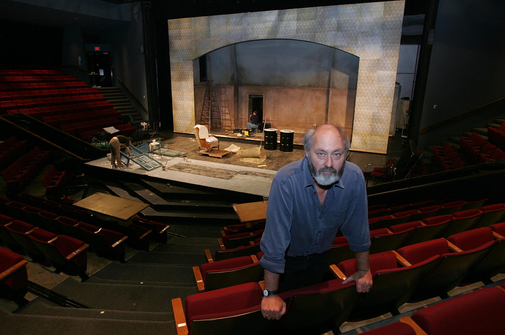 ". This is the indoor theater where Paul Whitworth will be one of four actors in the play ""End Game\"" this season. Whitworth was the artistic director of Shakespeare Santa Cruz for 20 years. (Karen T. Borchers/ Mercury News file)"