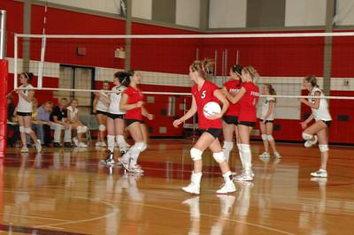 Girls JV Volleyball - 2007-2008 - 10/28/2007 Newaygo JG