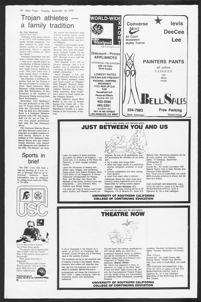 Daily Trojan, Vol. 87, No. 2, September 18, 1979