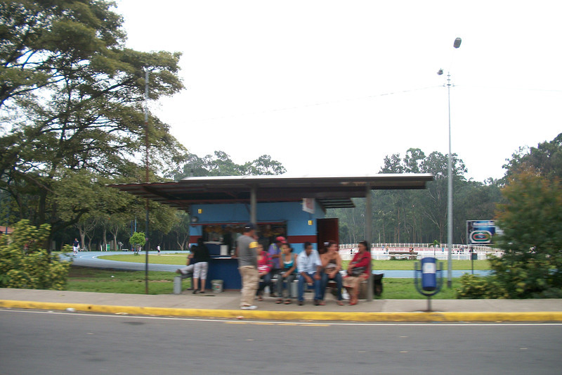 Sabana Park (& the bus stop for buses that go along the Pista/highway to Escazu, Santa Ana & further!)