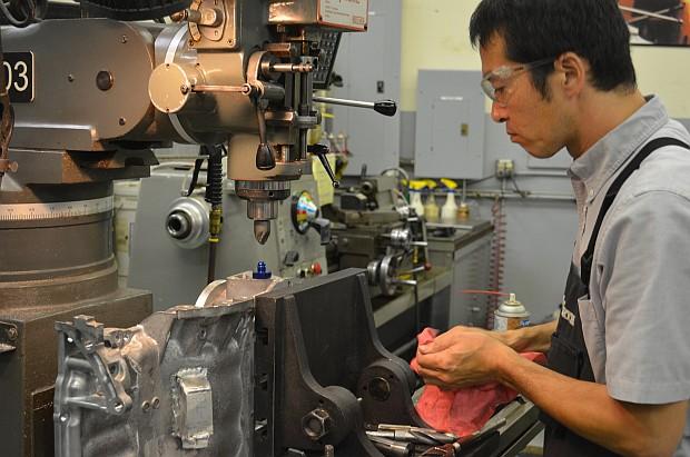 katsu ark design sump machining