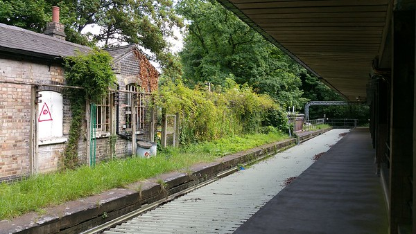 Highgate abandoned railway station 2017
