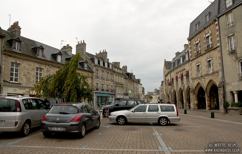 Street in Normandy  2      Photography by Wayne Heim