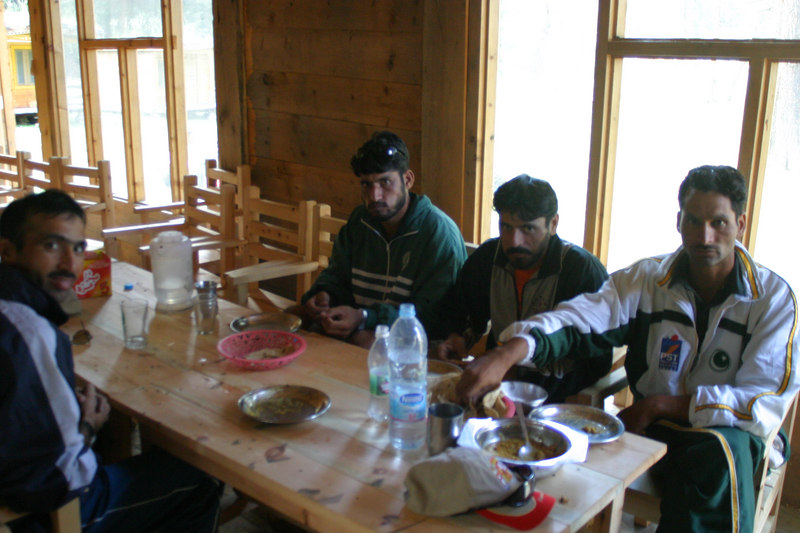 Dinner for the winners.