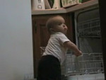 Max in the kitchen