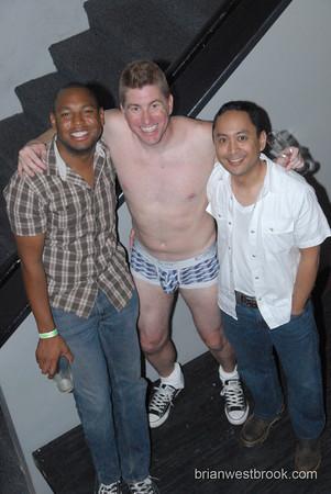 Avengers Underwear Party Fundraiser @ The Lobby Bar w/Gaysha Starr (7 Aug 2010)
