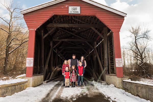 2017-12-10 Fair Hill Covered Bridge