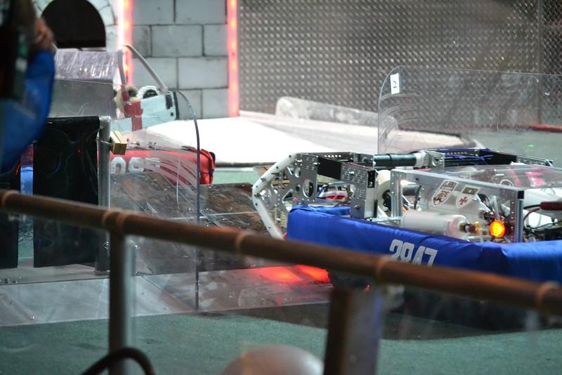 2016 First Bayou Regional Robotics Competition - Bouvier - 656