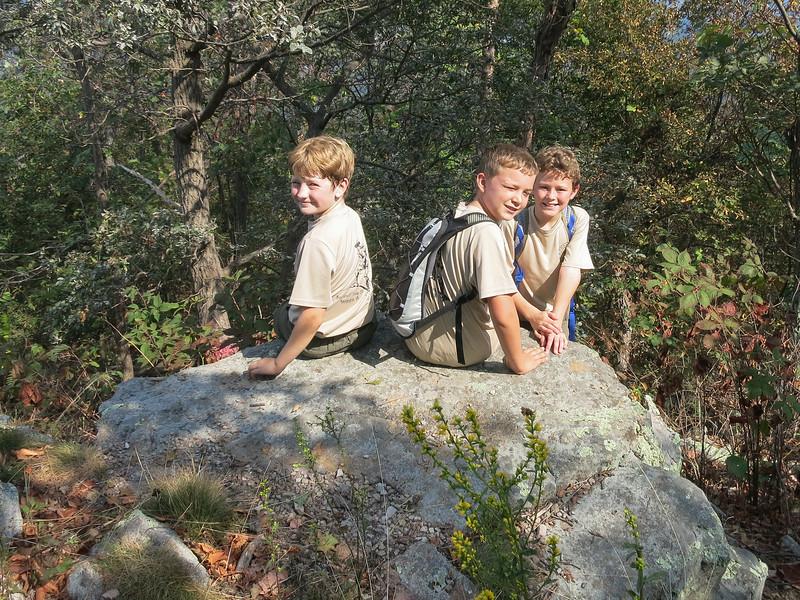 Troll Patrol members at the summit.