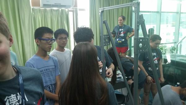 China Robotics Challenge 2015