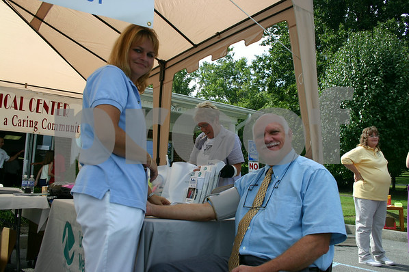 Dry Creek Medical Health Fair - August 2005