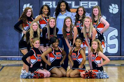 2013 BHS JV Basketball Cheerleaders